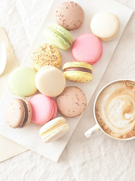 ちょっぴり... Macarons Tumblr Wallpaper