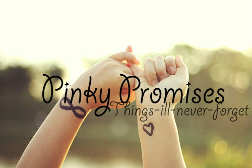 Group Of Pinky Promise We Tumblr