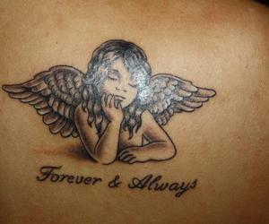 tattoo angel sweet
