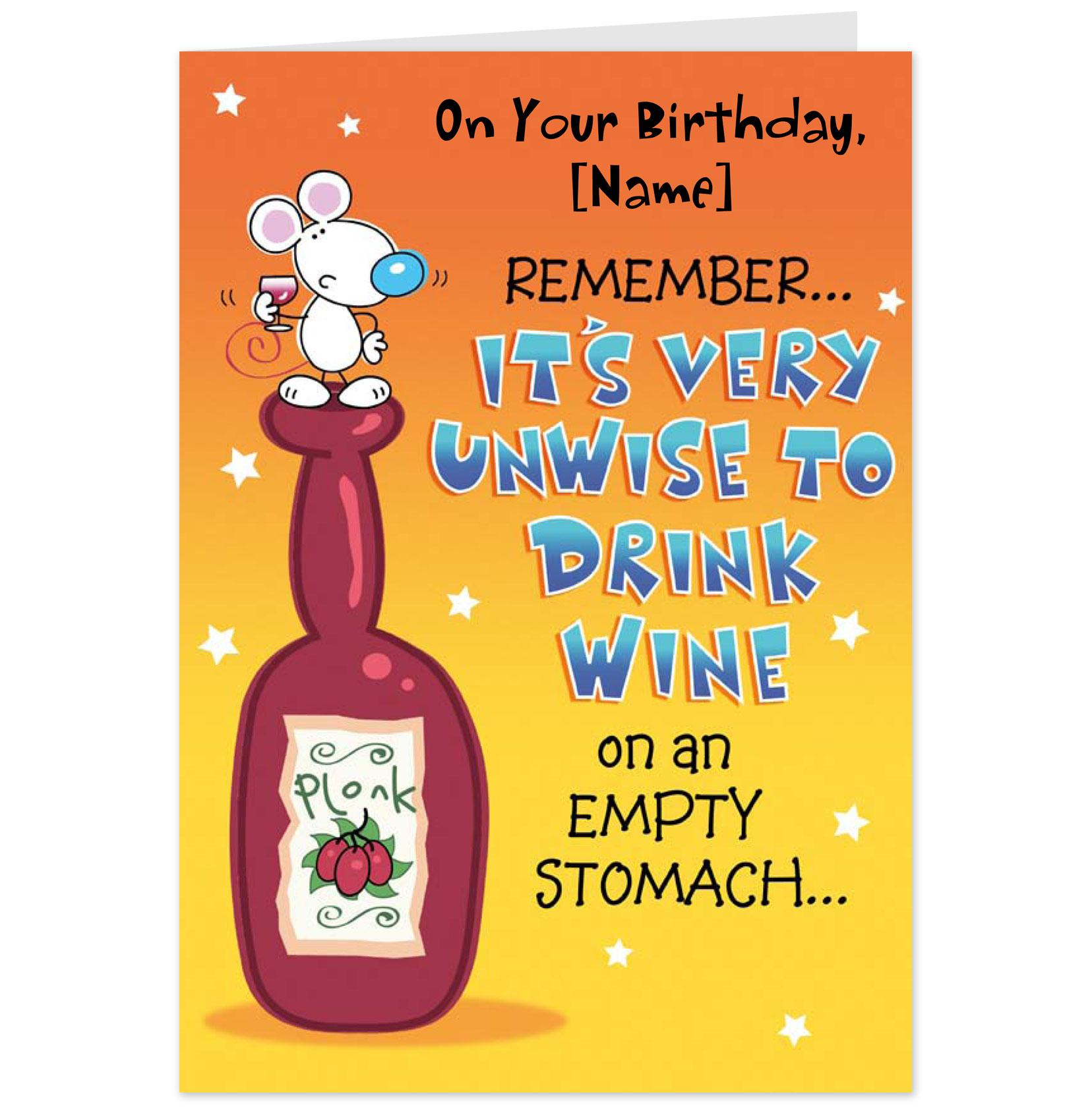 Hallmark Birthday Quotes Quotesgram: Mad As Cheese Birthday Card-Hallmark Cards UK
