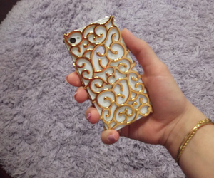 iphone case gold 4s white