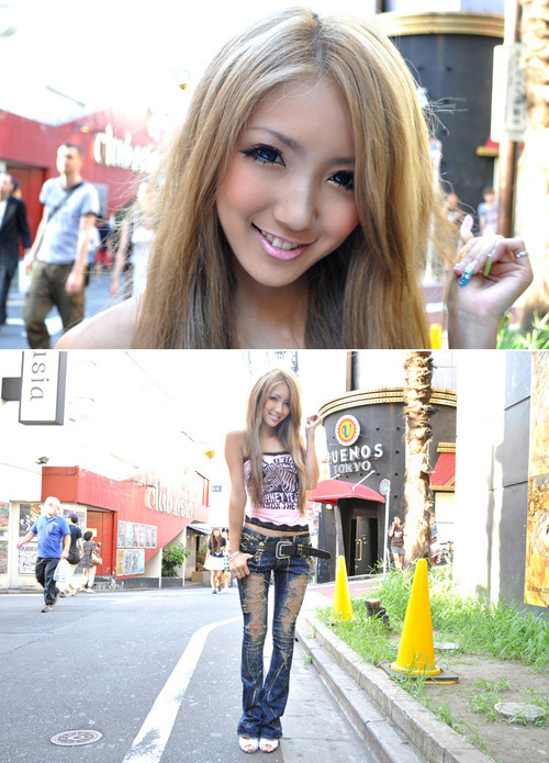 Super hot Japanese gyaru girlfriend