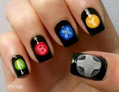 Group of Xbox Nails | we