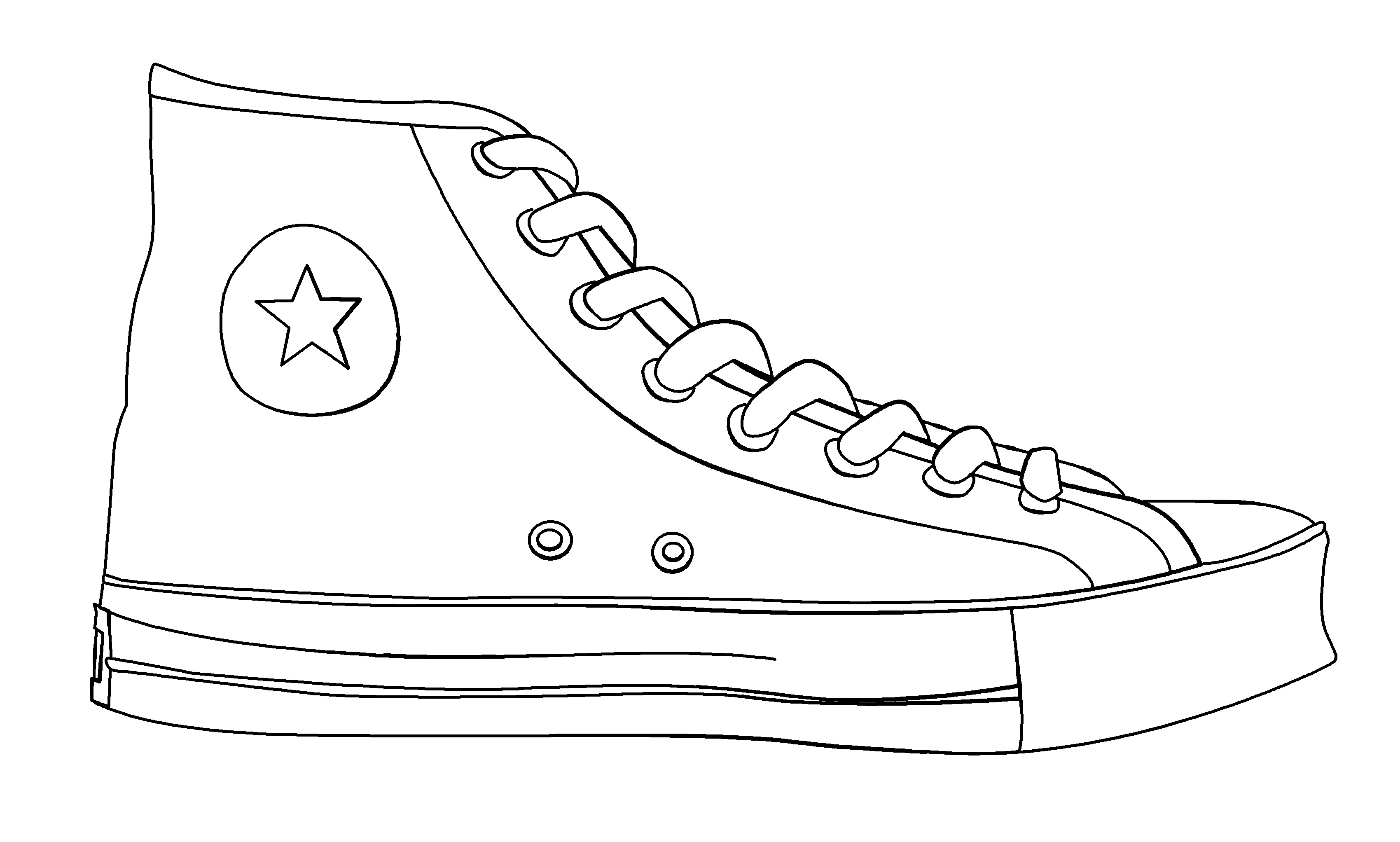 How to Draw Sneakers  Shoes with Easy Step by Step
