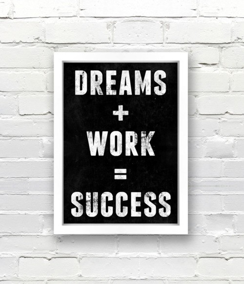 BELIEVE Anything Is Possible / dreams + work = success #truth #wisdom