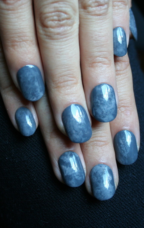 MANICMONDAY - Simple marble. xx ManicMonday ...