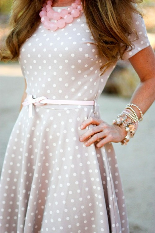 My style / polka dots-Love it. SO cute.