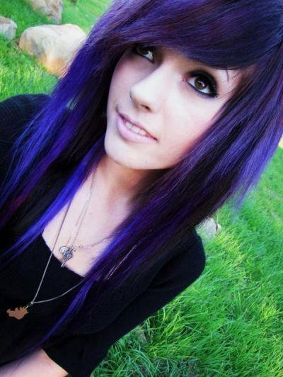 purple hair on pinterest lavender hair scene hair and