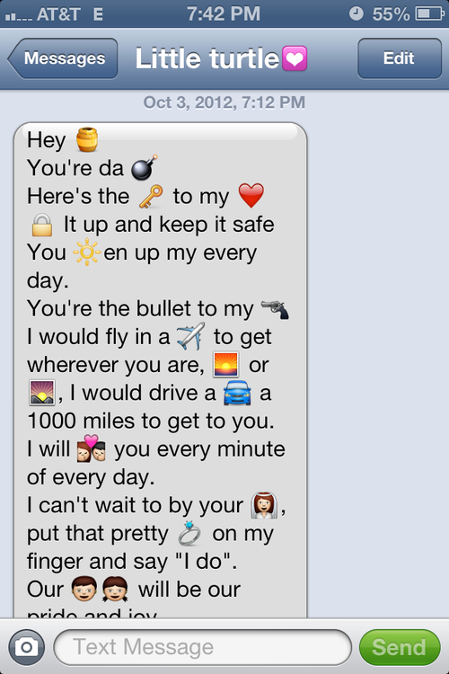 So cute text