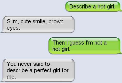 103. A cute text he sends you before you two are dating