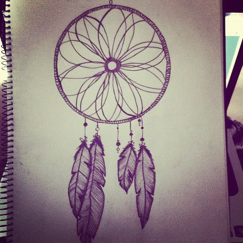 Dreams Tumblr Drawing Dream Catcher Tumblr