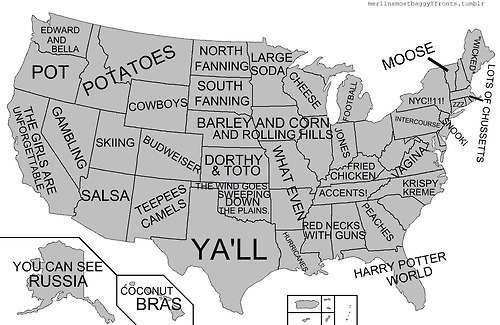 Image About Funny In LOL By Peippo On We Heart It - Tumblr us map