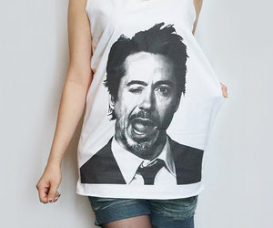 robert downey jr tshirt