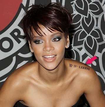 Rihanna-jb-shoulder-roman-numeral-tattoo_large
