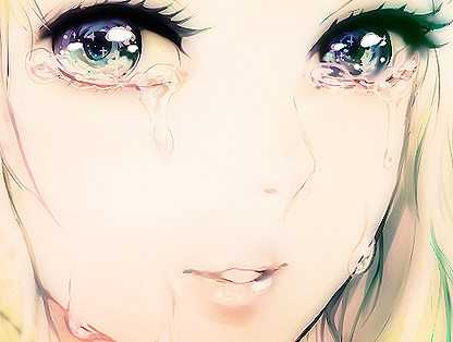 Anime&Manga Girl ist Cry | We Heart It | anime, eyes, and cry