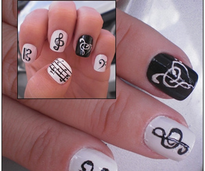 unhas music nails musica
