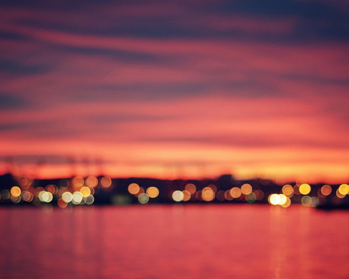 (via Bokeh Sunrise | Flickr - Photo Sharing!) | a beautiful world