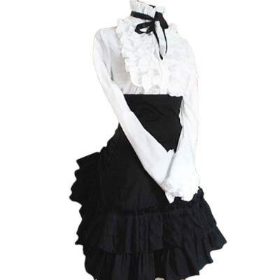 Black Corset Dress on Black Corset Skirt Punk Lolita Outfit   Punk Lolita Dresses   Lolita