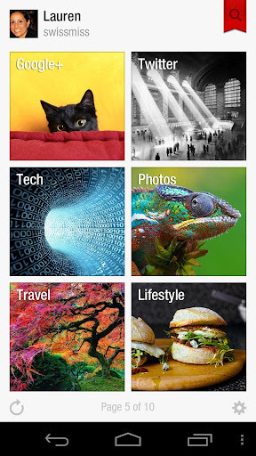 Flipboard Updated « Earth Android