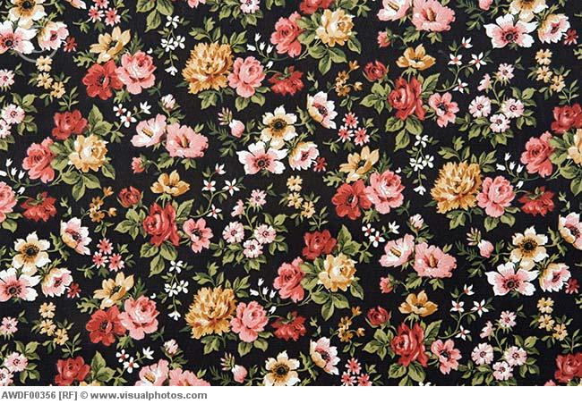 Floral wall paper | We Heart It | background, wallpaper ...  Floral wall pap...