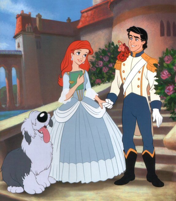 The Little Prince Uploaded By Vytaa On We Heart It: Image Detail For -Disney Couples Ariel And Eric By Kaity