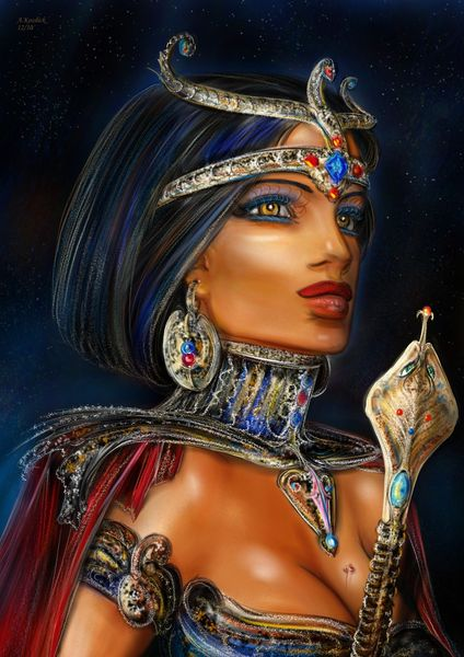 Married Cleopatra The Queen Of Egypt