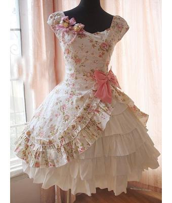 cutie lolita we heart it dress and lolita