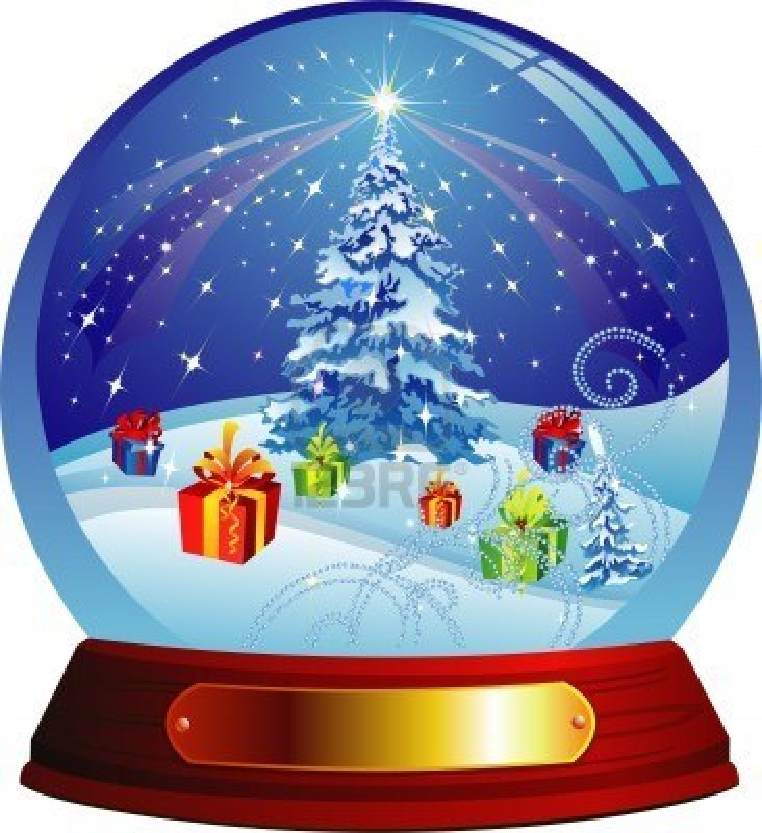 IA] Add a Giant Christmas Smurfy Wonder such as a Snow Globe or ...