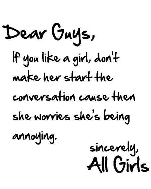 I Like A Girl Quotes: Dear Boys Taken Quotes. QuotesGram