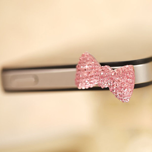 Wholesale_cute_dust_plug_earphone_ear_cap_colorful_crystal_bow_3.5mm_for_iphone_54s4_3_large
