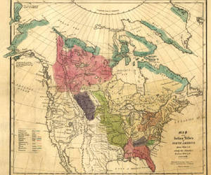 indian tribes of na map