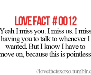 miss talking moving on