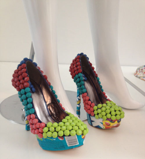 Pumps2 large Skittles | Candy Blog