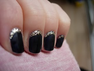 WOOooOo / 5 glitter nails ideas
