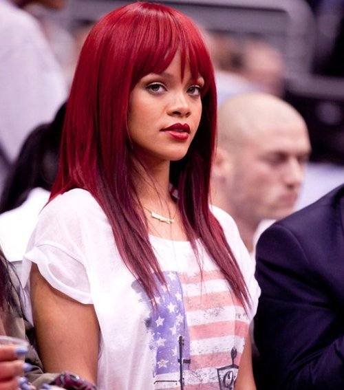Creating Rihanna Straight hair look with ghd iv styler - Hairstyles Tips - Zimbio