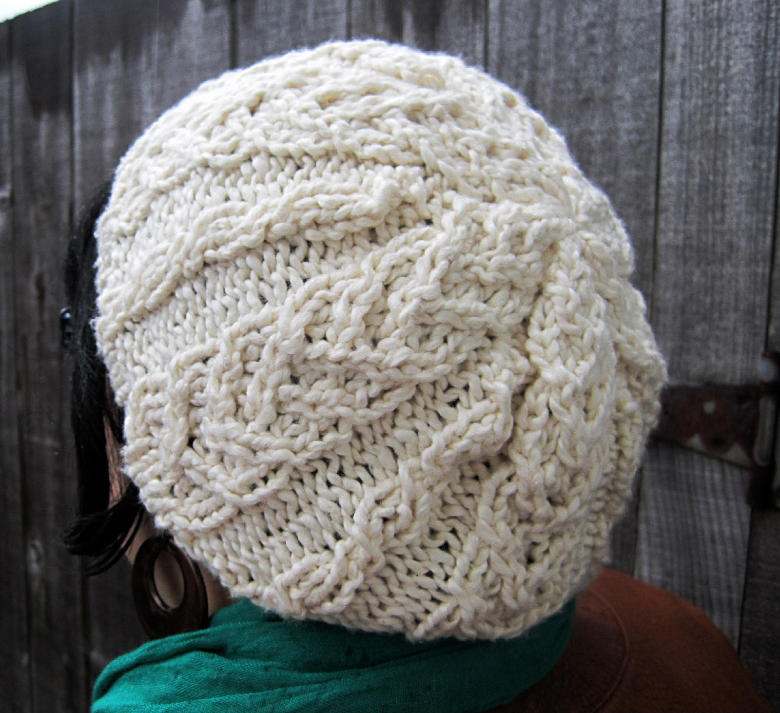 twistedBurl Slouchy Hat   Free Pattern j.erin Knits We Heart It beanie,...