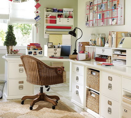 Home Decorating on Small Home Office Decorating With Elegant Furniture Ideas   We Heart