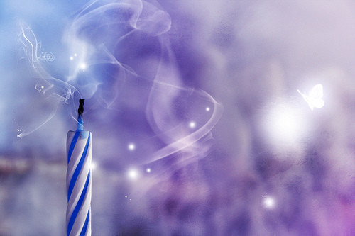 blue candlestick birthday candle wish wishes 773b761801283ce40eb8623828566f2e h large shhh picture on VisualizeUs