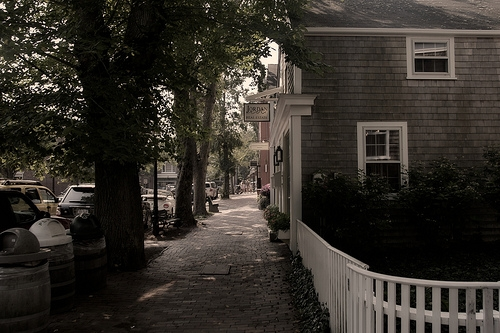 A Look Down A Nantucket Street on Flickr - Photo Sharing!