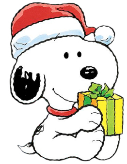 Christmas Baby Snoopy Cartoon Clipart Image - I-Love ...