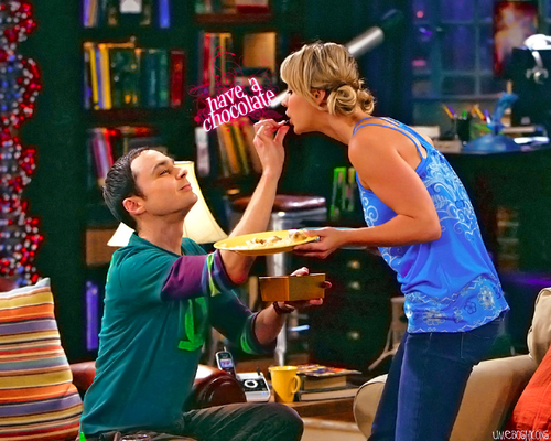 Penny and Sheldon The Big Bang Theory Wallpaper 15249559 Fanpop