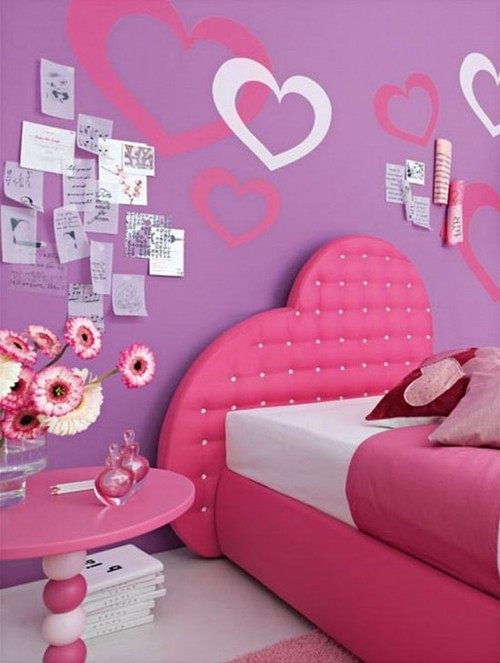 Fall in Love Bedrooms for Girls