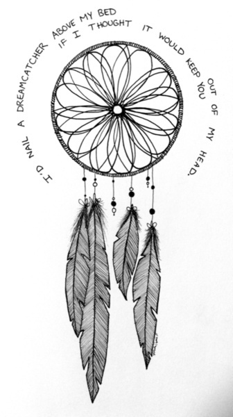 Dream Catcher Drawings