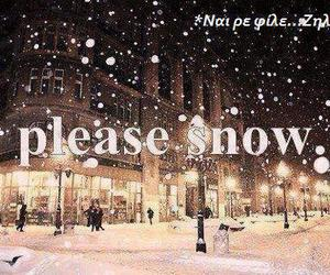 snow wishes