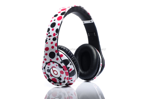 Wholesale_custom_dr_dre_beats_customer_stereo_spots_earphones_red_01_large