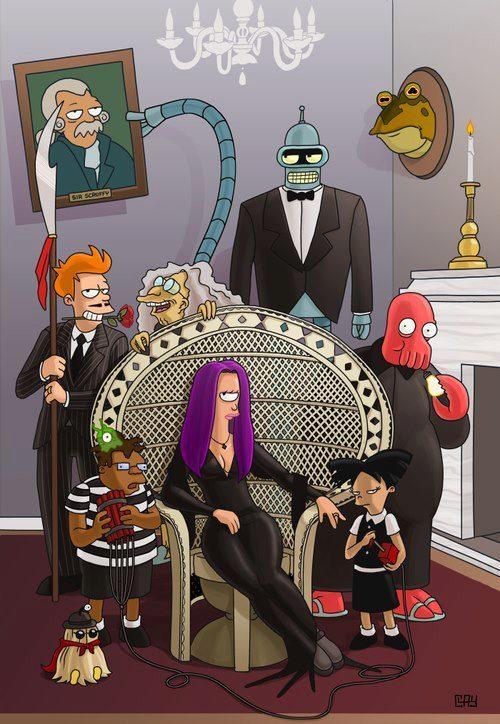 Futura Nova familia Adams desenho