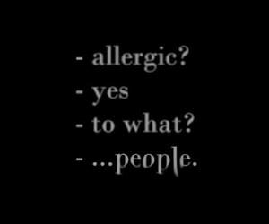 allergic