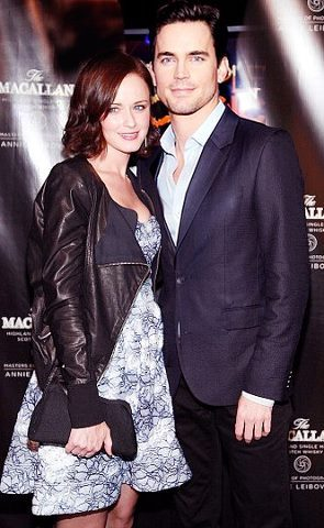 Matt Bomer and Alexis Bledel for Christian Grey and ...