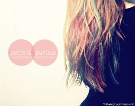 DIY: Hair Color Dyes To Chalk Up At Home! | the perfect line