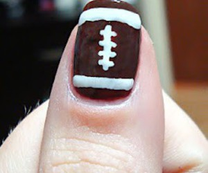nail art football